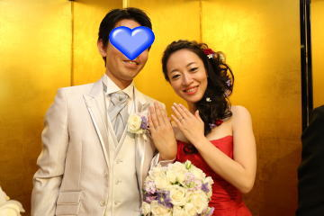 さしこちゃん、結婚式3