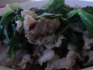 豚レタス炒め2
