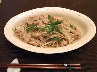 ピーマン豚肉炒め1