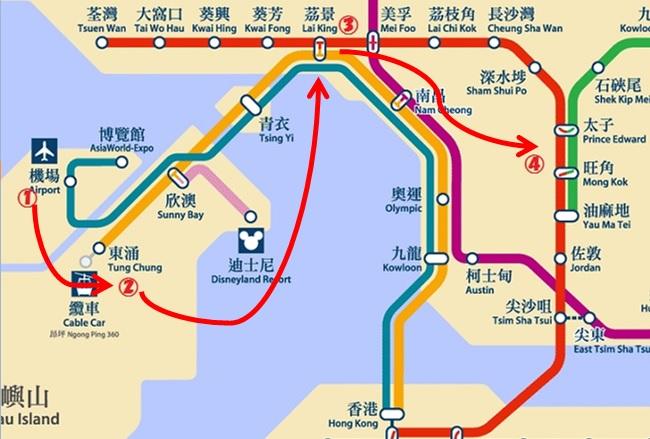 S1バス+MTRでお得