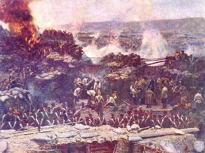 クリミア戦争のセヴァストポリ要塞戦