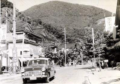 昭和初期の温海温泉