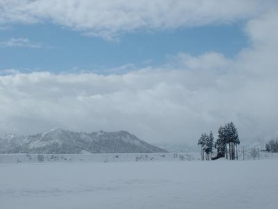 冬の魚沼地方
