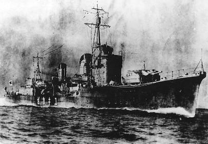 駆逐艦「雪風」