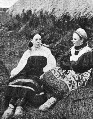 ソ連に取り込まれたばかりのウクライナの農民
