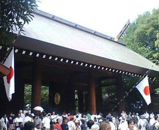 靖国神社20100815