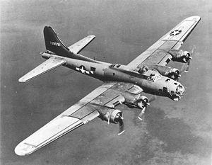 B17爆撃機