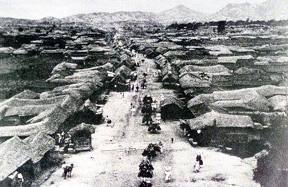 1880年代のSeoul 南大門大通り