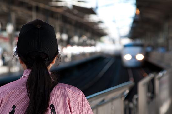 名古屋駅ホーム-12