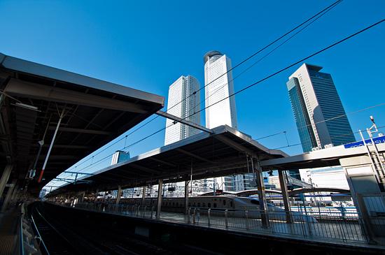 名古屋駅ホーム-2