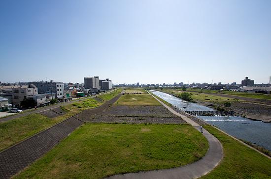 矢田川風景-3