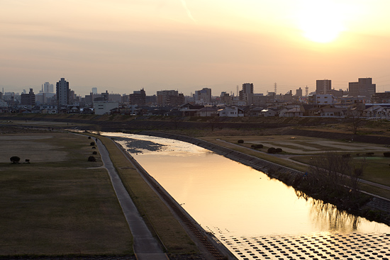 矢田川風景-9