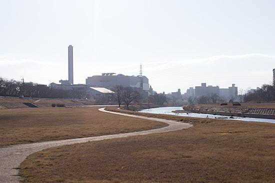 矢田川河川敷-1