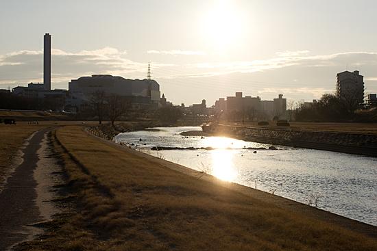 矢田川河川敷-7