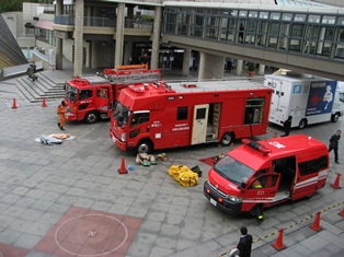 07消防車