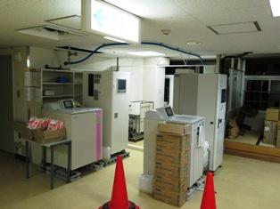 11機械室完成