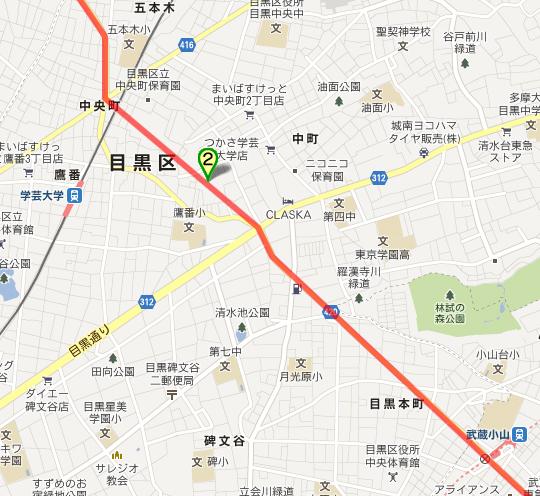 補助26号線 武蔵小山-五本木