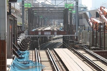 東横線切り替え工事