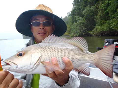 新年、初釣り