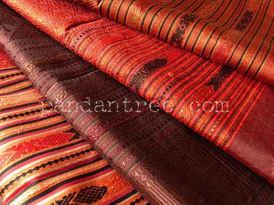 ラオスの織物パービアン