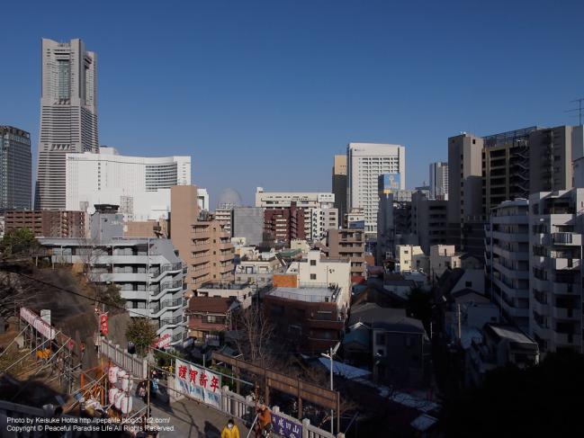 成田山 横浜別院 延命院からの眺め