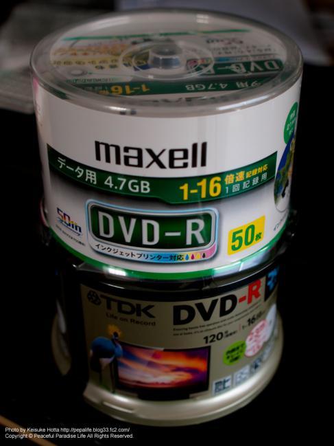 DVD-R(TDK,maxell)