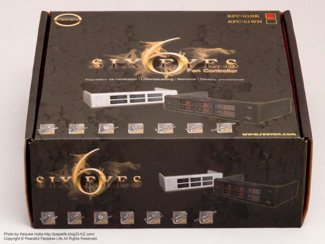 サイズ Reeven 6チャンネルファンコン SIX EYES /RFC-01BK