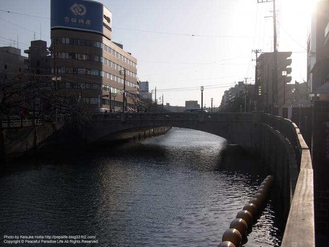 大岡川と長者橋