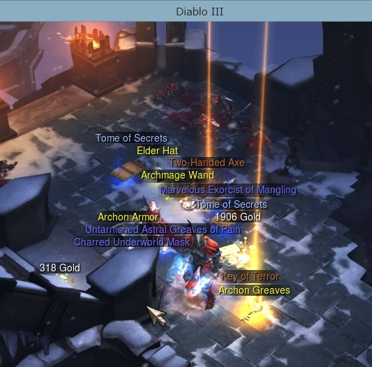 Skorn拾った【Diablo3】
