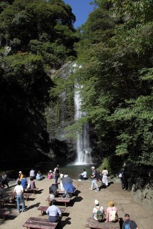 みのお大滝27