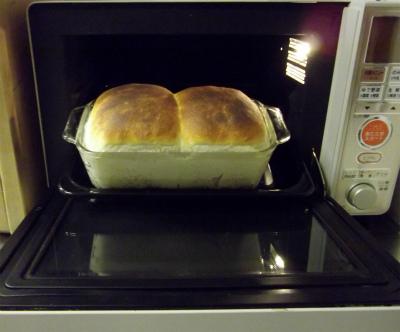 オーブンを開いて