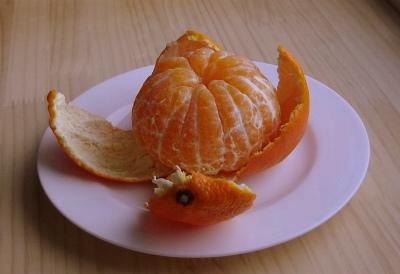 甘平の果肉
