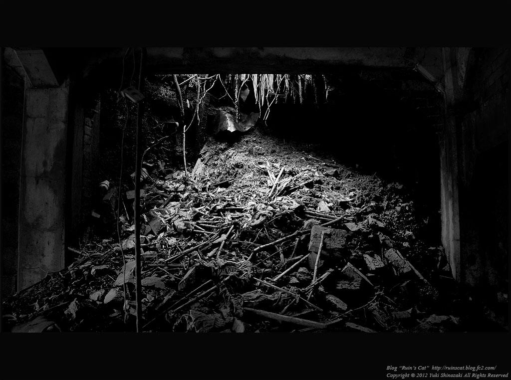 昭和炭鉱 地下