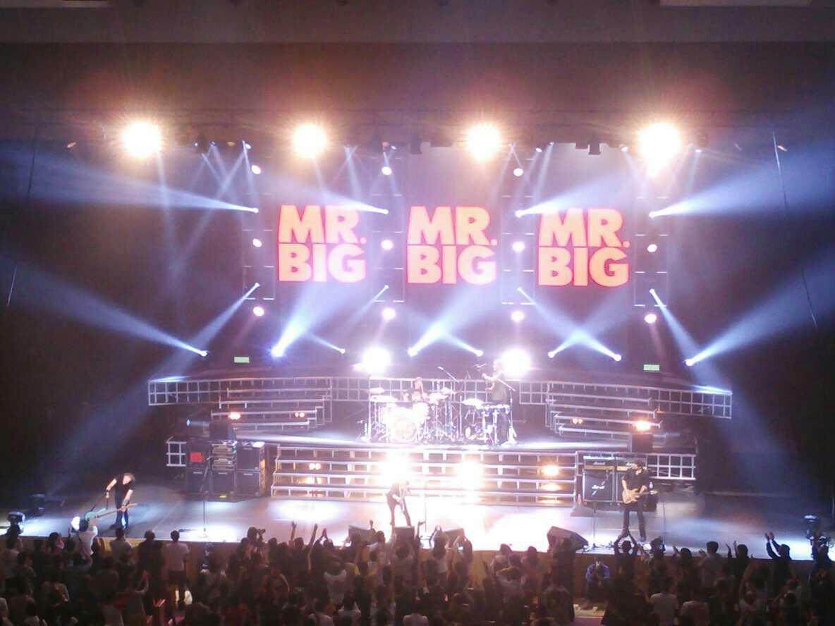 MR.BIG見てきたよー!!
