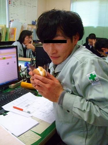 Kojima smiling