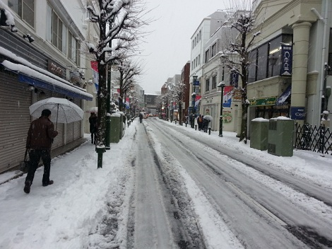 大倉山雪1