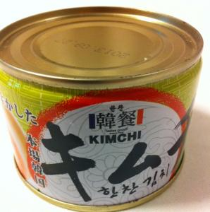キムチ缶詰パッケージ