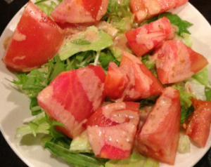 ひとみトマトサラダ