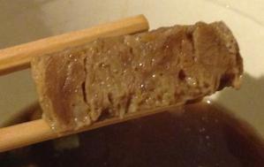 厚切角煮麺ヨリ