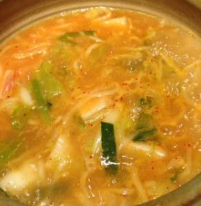 ホルモン食堂キムチ麺
