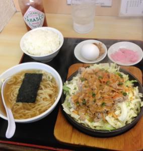 大盛軒2013鉄板麺