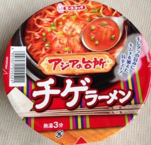 アジアの台所チゲラーメンパッケージ