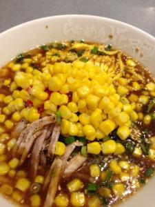 花月スープのある冷やし中華1
