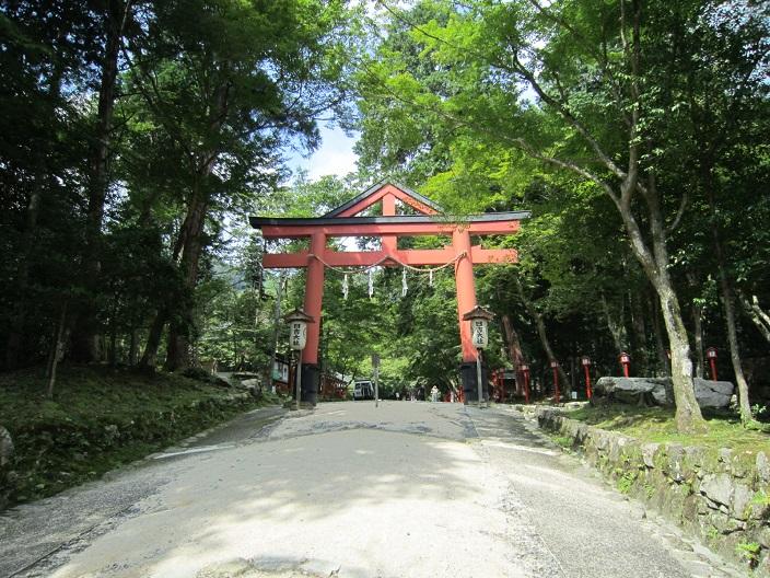 日吉神社 鳥居