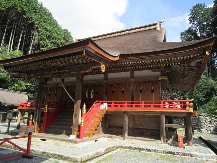 日吉神社 東本宮 本殿