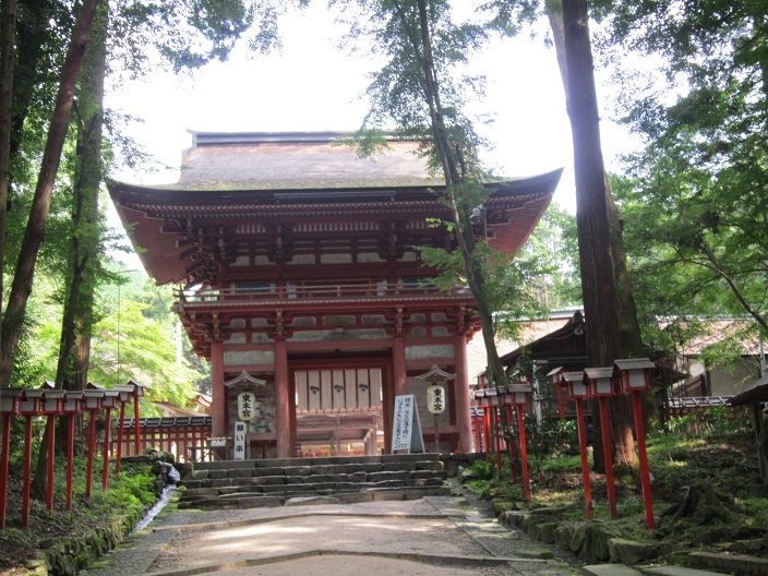 日吉神社 東本宮 楼門