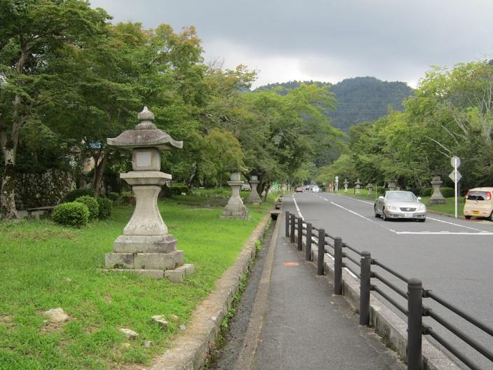 日吉神社 参道