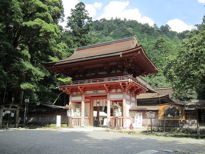 日吉神社 西本宮 楼門