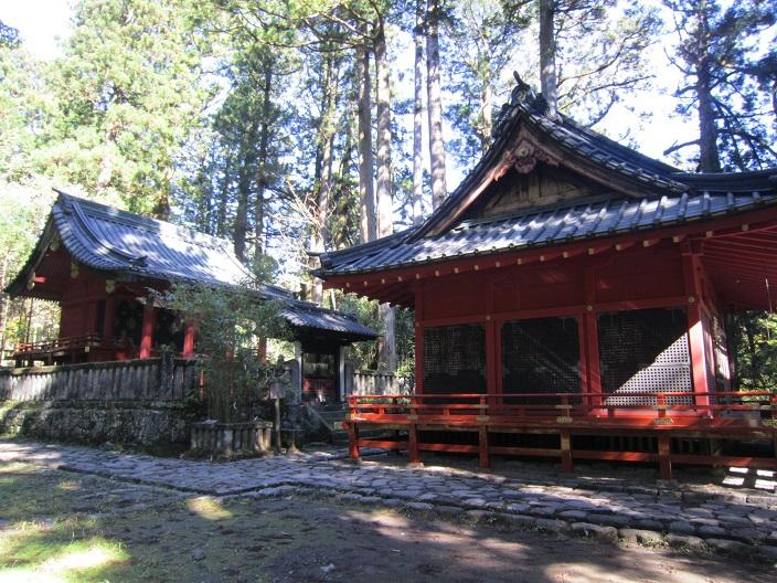 瀧尾神社拝殿と本殿