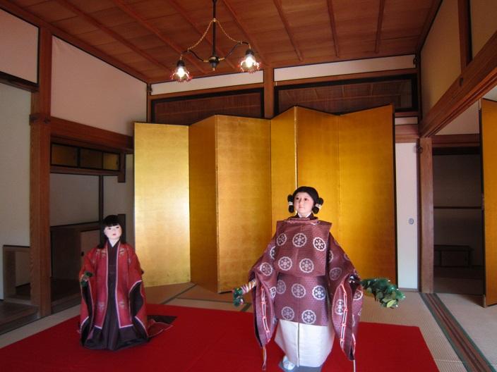 田母沢御用邸内部3